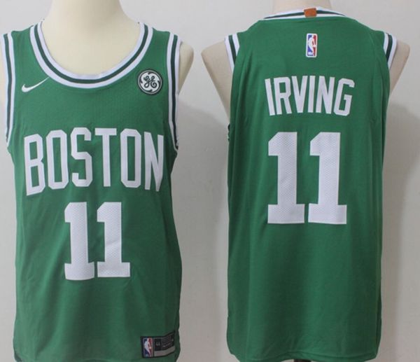 low priced db7f1 c133a Kyrie Irving #11 Boston Celtics GE Patch Green 2017-2018 Jersey Size Large  for Sale in Charleston, SC - OfferUp