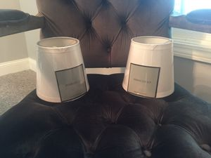 New Restoration Hardware Clip On Lamp Shades For In Arlington Heights Il
