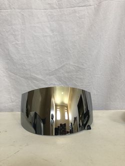SUOMY SPECR1 Mirror Iridium Chrome Face Shield , Anti Fog, KASPVA, New Thumbnail