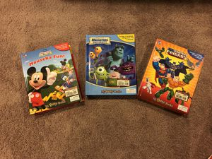 3 Busy Books sets with playmats and figurines for Sale in Clarksburg, MD