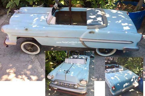 1953 Chevy Fibergl Pedal Car Go Kart Body For In Moreno Valley Ca Offerup