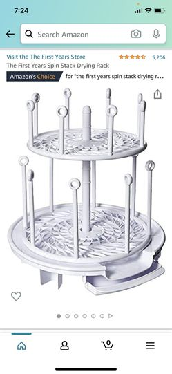 Spin Stack Drying Rack Thumbnail