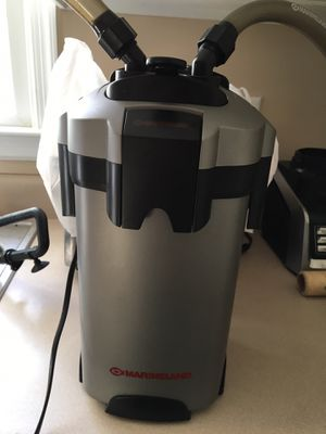 Marineland C-220 canister filter with media and new seals. for Sale in Midlothian, VA