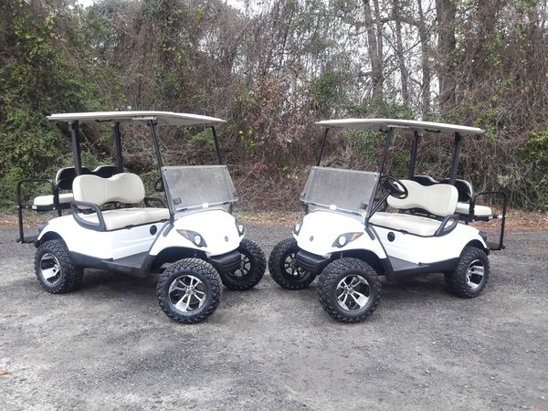 2016 Lifted Yamaha Golf Cart, 48 volt , $3,800 for Sale in ...