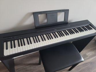 Yamaha Digital Piano P-45 Thumbnail