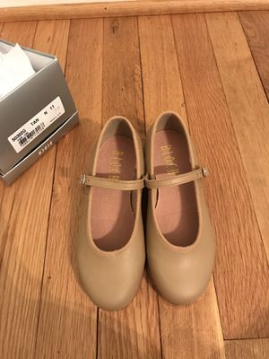 NEW Bloch Toddler Girls Leather Tap Shoes for Sale in Rockville, MD