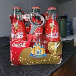 50th Aniversary 6 Pack DISNEY Coca COLA bottles  Thumbnail