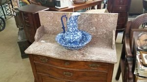Victorian marble top wash stand for Sale in Appomattox, VA
