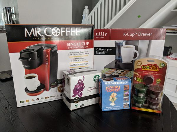 Mrcoffee Single Serve Keurig Cup Brewing Coffee Maker For Sale In