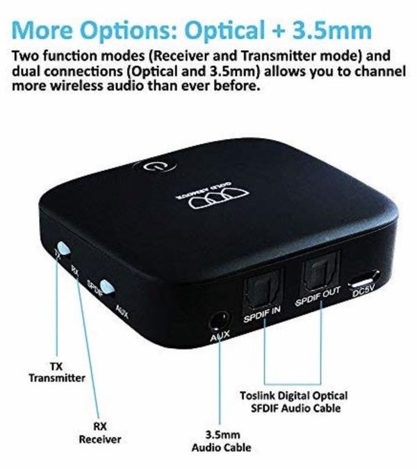 Bluetooth Transmitter Receiver for Sale in El Cajon, CA - OfferUp