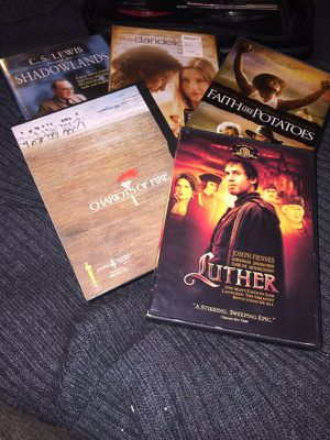 Lot of family movies 5 DVDs in excellent/like new condition for Sale in Phoenix, AZ