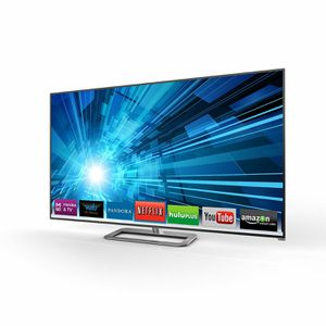 Vizio 55 inch 3-D Smart TV with 3 pair of glasses for Sale in Tampa, FL