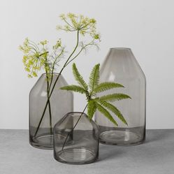 """Brand New Hearth & Hand 16"""" Glass Extra Large Vase Thumbnail"""