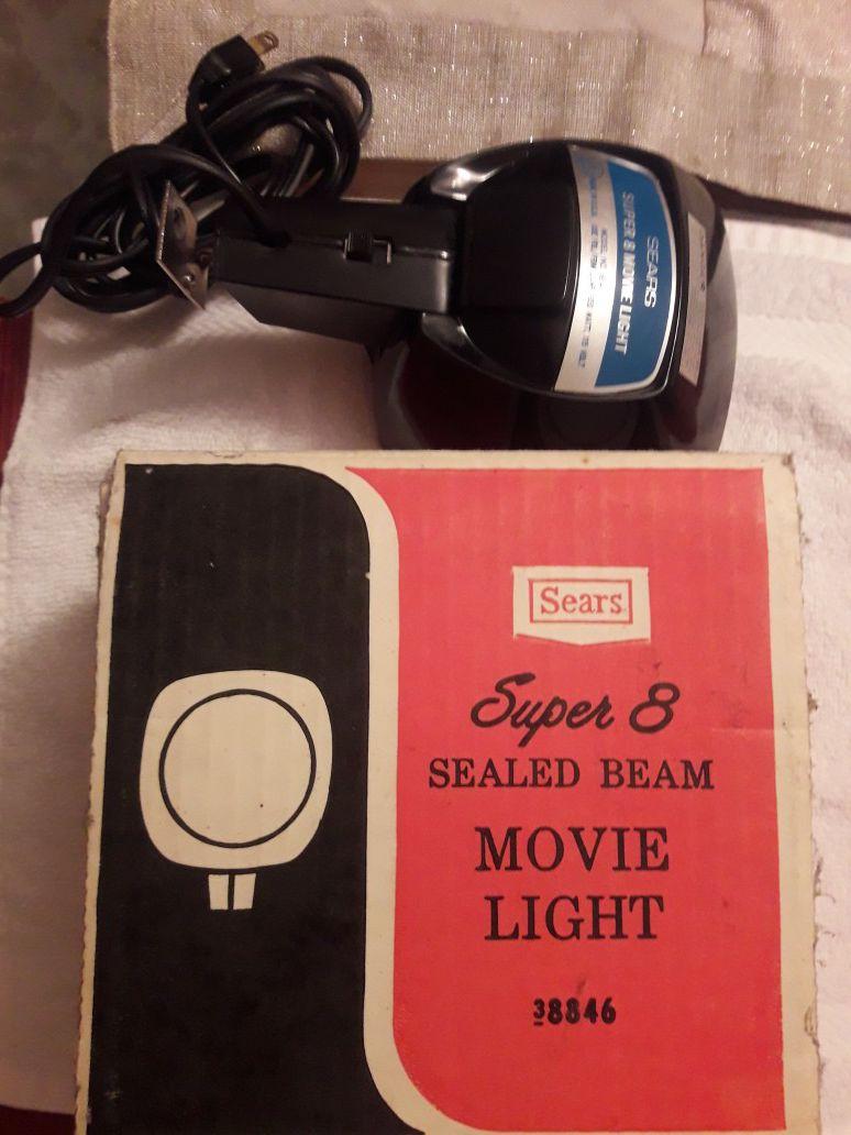 Vintage Super 8 Light
