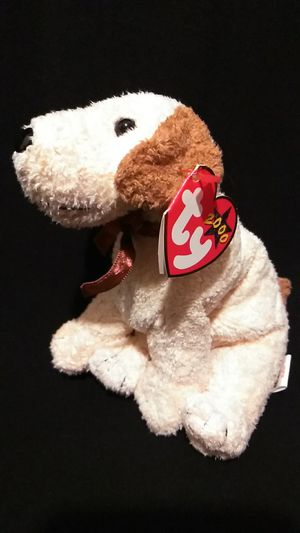 Mint Condition Retired 2000 Ty Beanie Babies Rufus The Dog With Swing Tag Errors for Sale in Gresham, OR