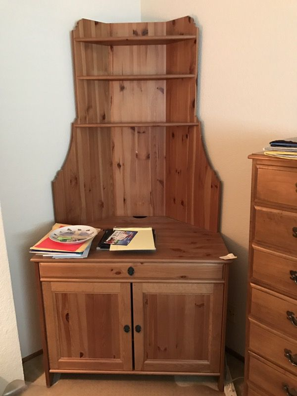 Favorite Ikea Leksvik corner hutch (Furniture) in Santa Clara, CA - OfferUp RV68
