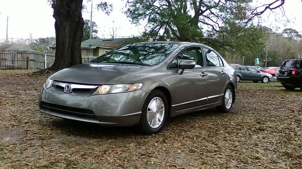 2007 Honda Civic Hybrid 140 000miles No Check Engine Light On Clean Inside And Out Rides Smooth With Cold Ac Asking 3600 Cars Trucks In Jacksonville