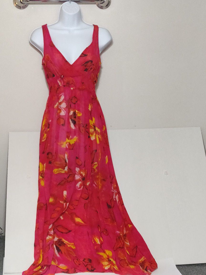 Maxi-dress collection, size 4/S