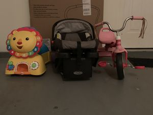 Car seats and toys for Sale in Herndon, VA