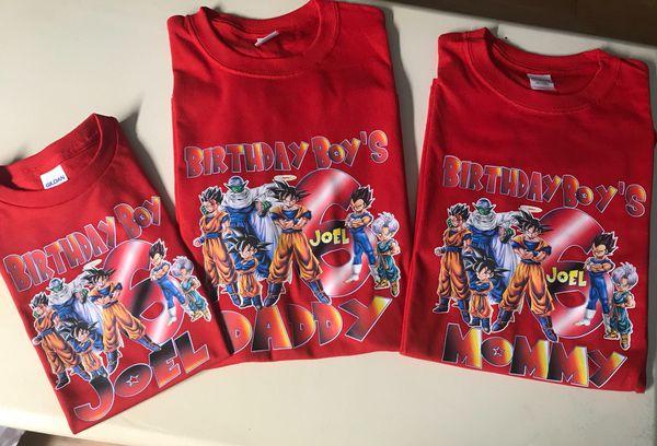 bbf69337 Dragon ball Z, Goku birthday T-shirts for Sale in Houston, TX - OfferUp