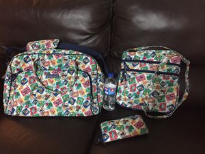 Vera Bradley travel bag, cross body & wallet set, used for sale  Tulsa, OK