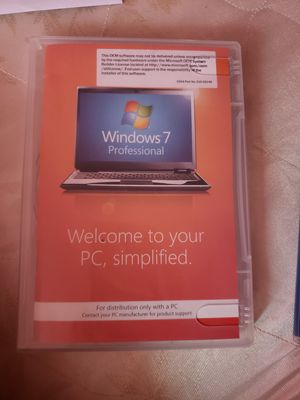 windows 7 professional for Sale in Detroit, MI