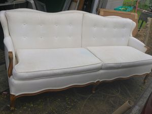 White antique sofa by biscoff interior for Sale in Oberlin, OH