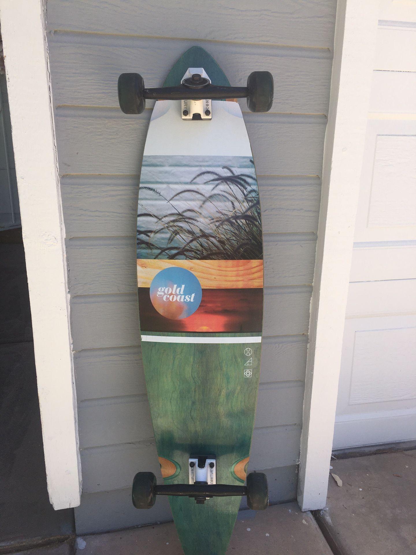 Gold Coast longboard