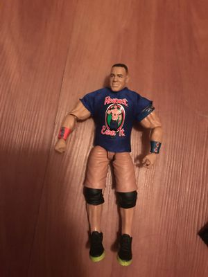 John cena action figure shirt risband can come off for Sale in Maitland, FL