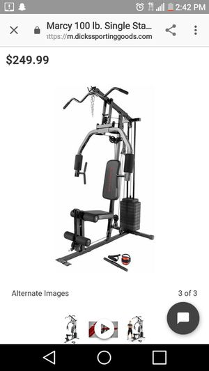 Marcy 100 pound home gym for Sale in Nashville, TN