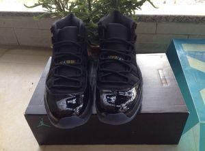 Nike air Jordan 11 retro Black size 10 for Sale in Silver Spring, MD