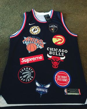 2xl and Med large and Med sizes supreme Nike nba Jerseys brand new for Sale  in c52b72e73