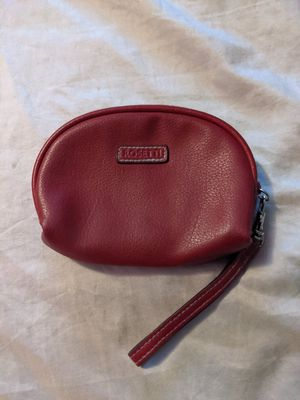 Photo Rosetti 100% Vinyl Wrist Wristlette Strap Red Coin Purse Pouch Small Satchel
