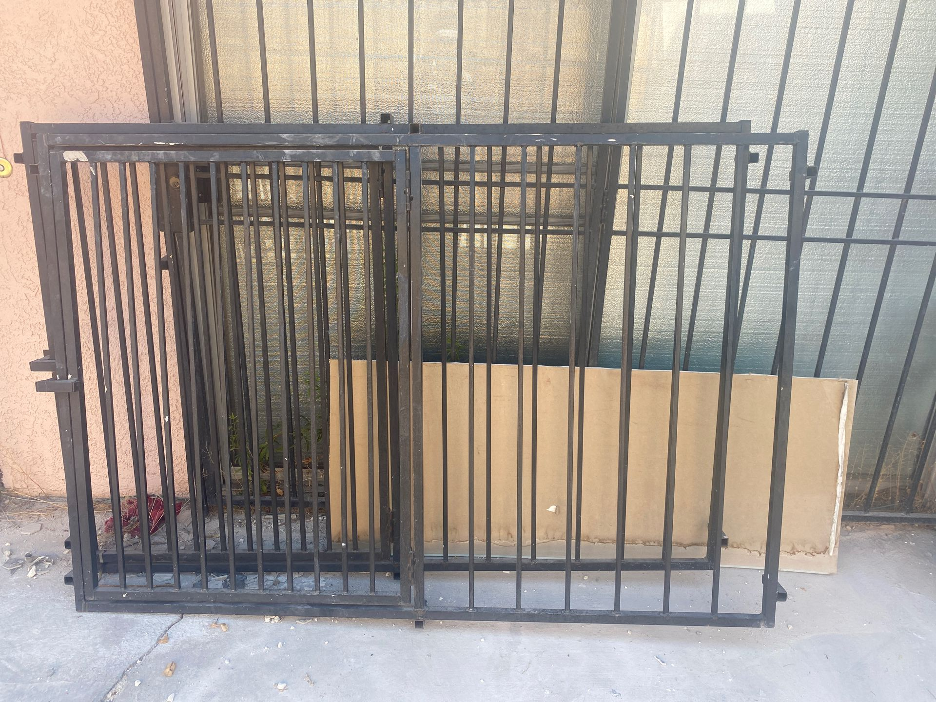"Window security gate width 72"" x length 48"""