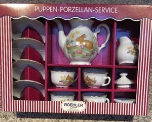 Roehler Collection Porcelain Easter Set BEAUTIFUL, NEW China tea Set for Sale in Miami, FL