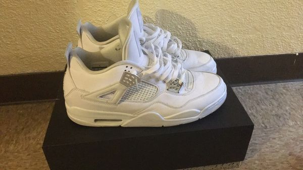 size 40 e0b7e 3323f All white Jordan 4s size 13 for Sale in Pittsburgh, PA - OfferUp