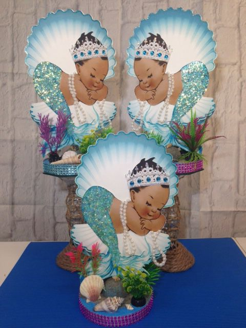 Mermaid Baby Shower Birthday Pary Decorations
