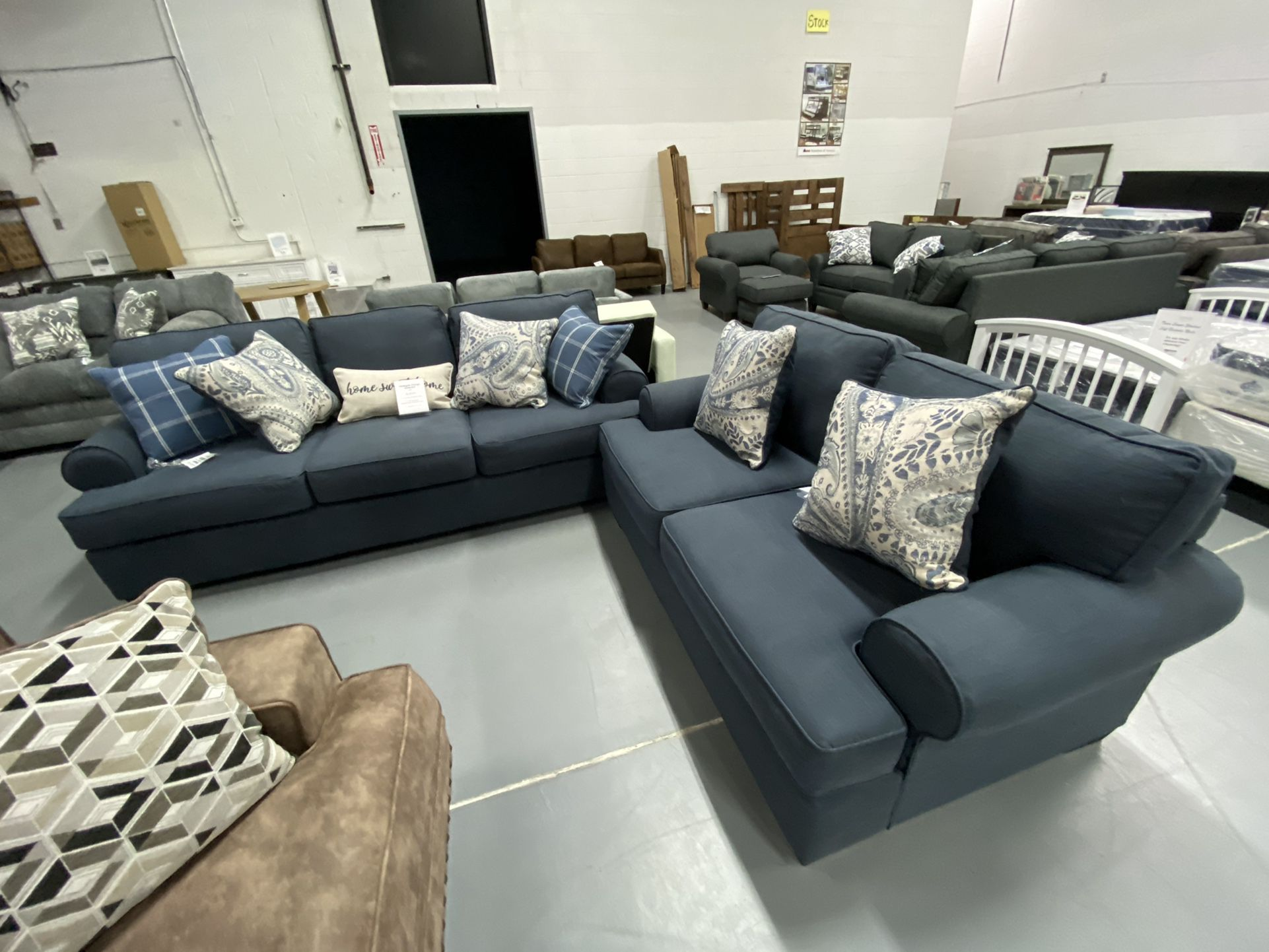 Best Deals On New Sofas And Sectionals - 90 Days Same As Cash - $52 Down Ask Eli Today