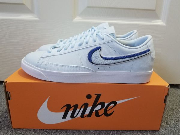 4729b496675e New in Box Men s Nike Blazer Low 3D Light Bone White Game Royal Blue Tint  Shoes AV6964 001