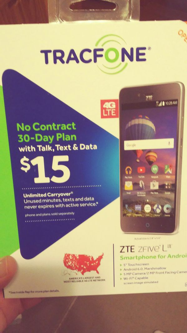 New Tracfone ZTE ZFIVE L for Sale in Lincolnwood, IL - OfferUp