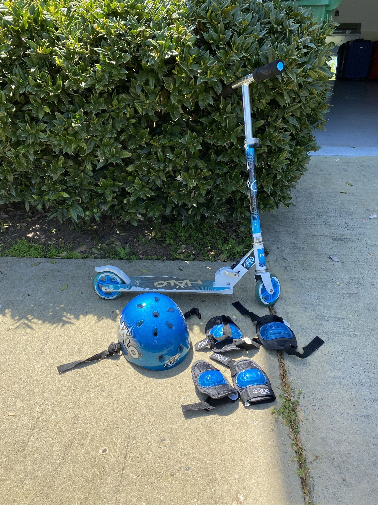 Halo Kids Scooter With Protection Set