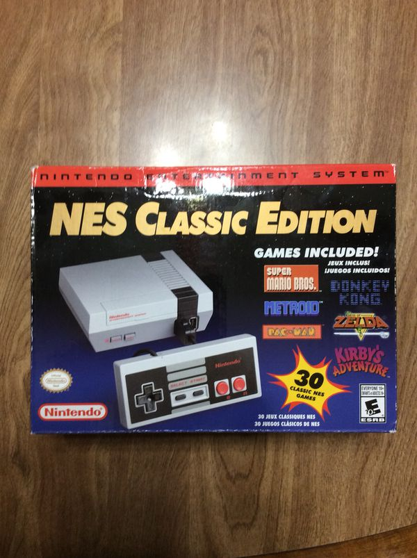 Nintendo Nes Classic Edition For Sale In Reedley Ca Offerup