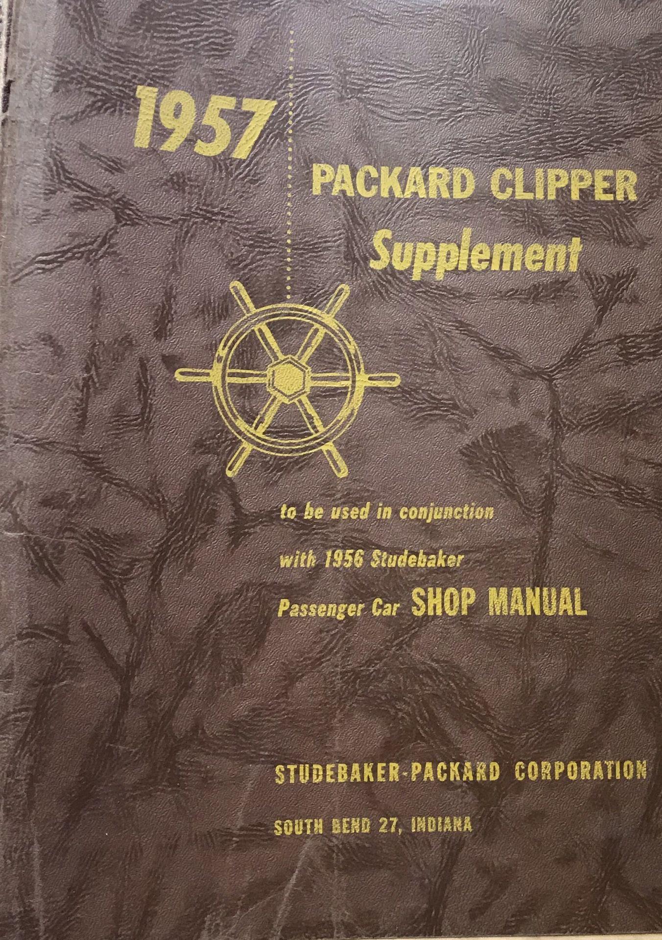 1957 Packard Clipper Supplement