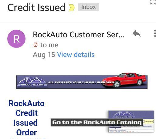 Rockauto Mobile App >> Auto Parts Rockauto Com Credit For Sale In Hyattsville Md Offerup