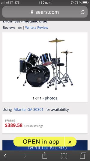 New and Used Drum sets for Sale in Decatur, GA - OfferUp