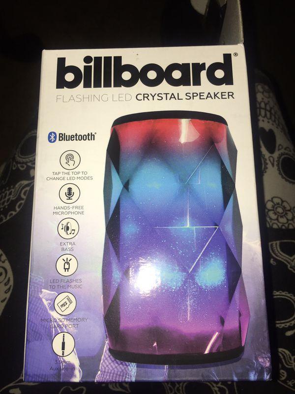 Billboard Flashing LED Crystal Speaker for Sale in Salem, OR - OfferUp