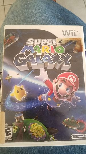 Nintendo wii super mario galaxy for Sale in Port Richey, FL