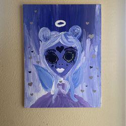 Girl Ethereal Angel Canvas Thumbnail