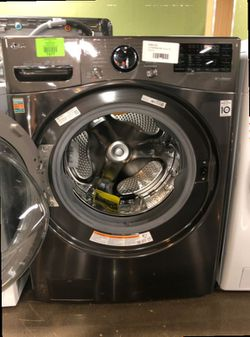 Brand New LG 4.5 Cu Ft Front Load Washer in Grey 7DQJ Thumbnail