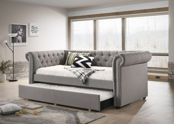 Ellie gray twin daybed with trundle for sale in houston tx